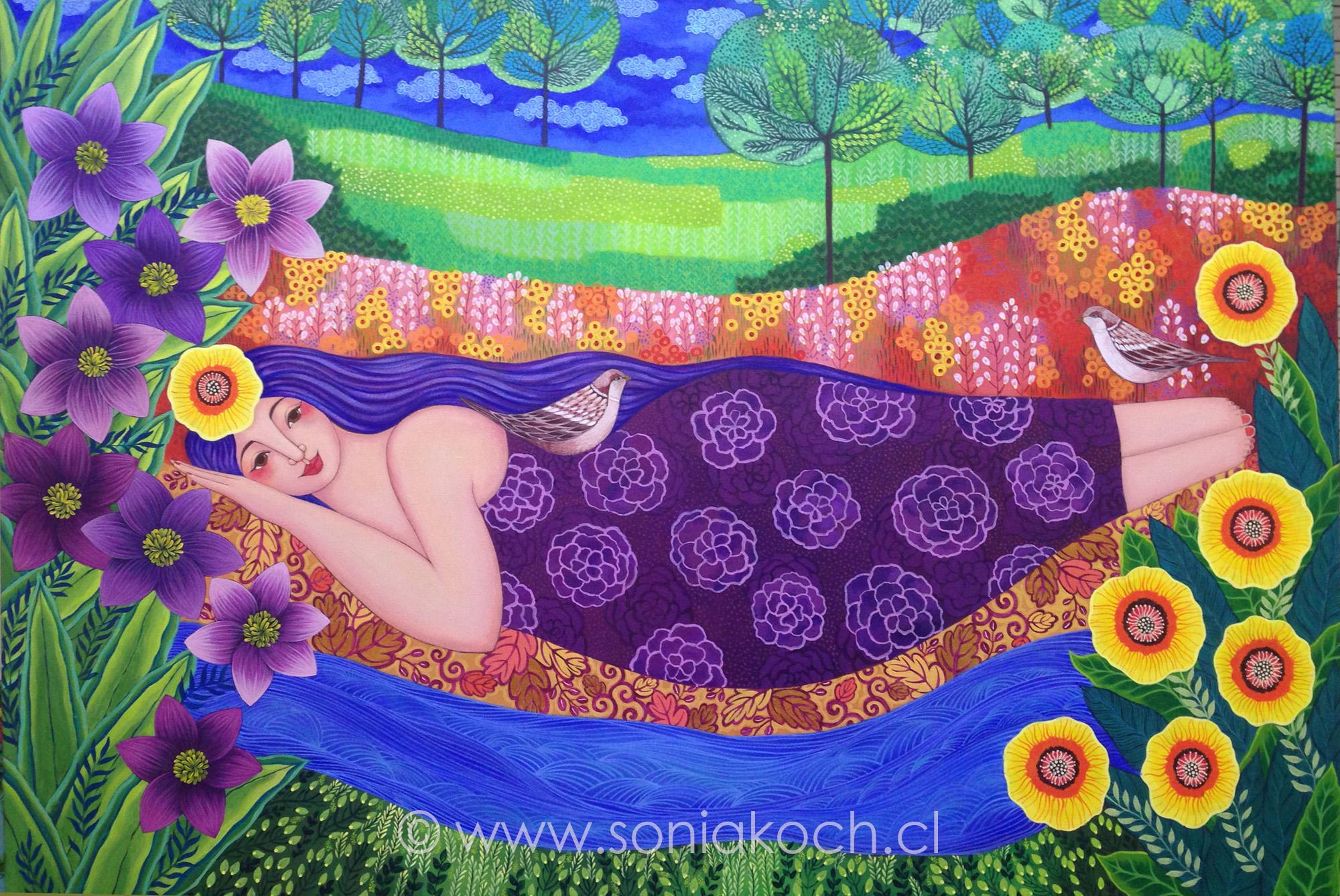 Sacred Garden and Sacred Tree, by Sonia Koch - Tiny Buddha